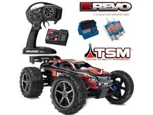 Traxxas 56036-4 1/10 E-Revo Monster Truck 4WD w/ TSM / Radio / Waterproof