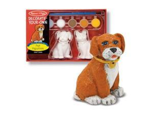 Melissa & Doug Decorate-Your-Own Pet Figurines Kit