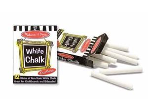 White Chalk (12 pc) Dustless by Melissa and Doug