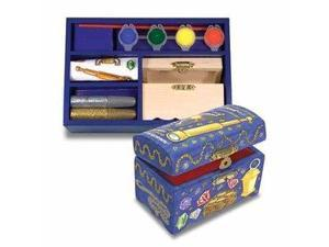Melissa & Doug Educational Toy DecorateYourOwn Wooden Butterfly Chest