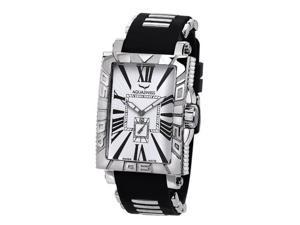 Aquaswiss 63G012 Anchor Man's Rectangular Curved Watch Stainless Steel