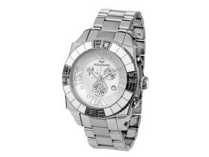 Aquasiss 62XGB004 Swissport  Diamond Men's Chronograph Watch Stainless Steel Case and Stainless Steel Band