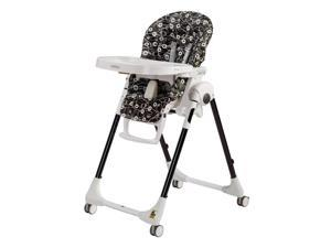 Peg Perego Prima Pappa Zero 3 High Chair - Pavillon Black