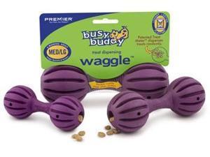 Busy Buddy Waggle Purple Small