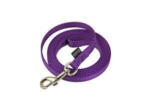 "Premier Nylon Leash 6 ft 3/8"" Deep Purple"