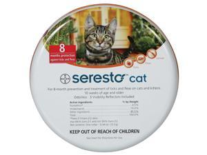 Seresto Flea & Tick 8 Month Collar for Cats
