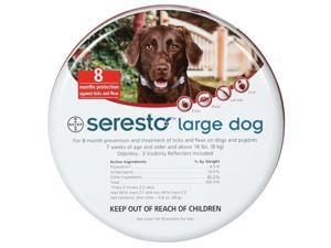 Seresto Flea & Tick 8 Month Collar for Large Dogs over 18 lbs