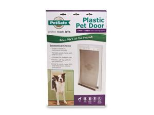 PetSafe Premium Plastic Pet Door White, Large PPA00-10960