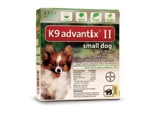 K9 Advantix II for Dogs 4-10 lbs 4pk