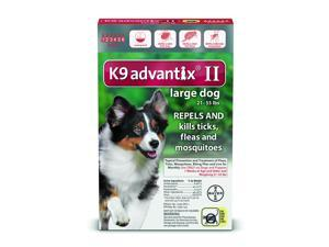 K9 Advantix II Dogs 21-55 lb 6 Pack (6 Month Supply)