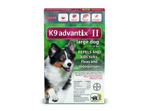 K9 Advantix II Dogs 21-55 lb 6 Pack (6 Month Supply)