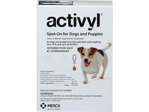 Activyl for Dogs 14-22 lbs - 6 month supply