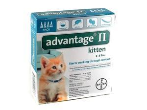 Advantage II for Cats - Under 5 lbs