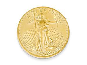14K Yellow Gold 22k 1/10th oz American Eagle Coin
