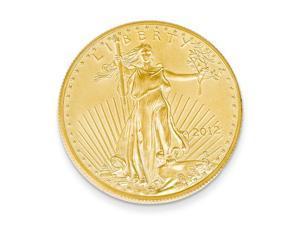 14K Yellow Gold 22k 1/4 oz American Eagle Coin