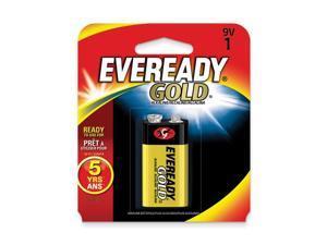 (1) 9Volt Eveready Gold Battery