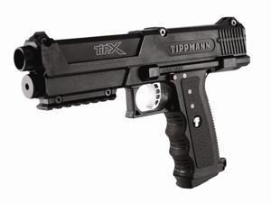 Tippmann TPX Paintball Pistol - Black