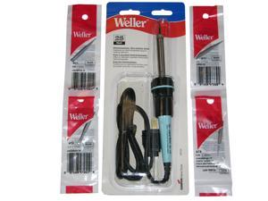 25 Watts, 120v, 750°F Professional Soldering Iron, 3-wire Cord, Bundled with ST1 1.6mm screwdriver tip, ST3 3.17mm screwdriver tip, ST7 .03 conical tip, ST8 1.6mm long screwdriver tip.