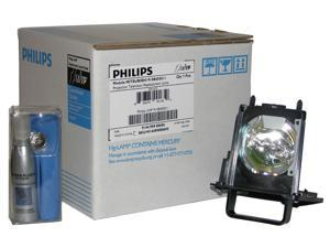Original Philips Rear Projection Replacement Lamp/Bulb/Housing for Mitsubishi 915B455012. Included at no charge is one Screen Kleen 1 oz kit, a $9.95 value. In the Philips trademark Blue/White Package