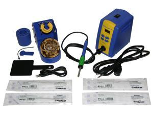 Hakko FX951-66 Professional Soldering Station with tip Bundle. Includes Chisel tips: T15-D12, T15-D24, T15-D4 & T15-D52. Get your FX-951 up and running with a great selection of tips.