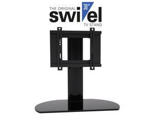 "Universal Replacement TV Stand/Base With Swivel Feature for 20""-37"" TVs Flat Panels, LCD, LED & small Plasma TVs. Fits most TVs with VESA pattern 50mm X 50mm up to 200mm X200mm. For all brands."