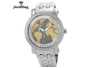 New Men's Justbling.20 Diamonds watch JB-6211-I
