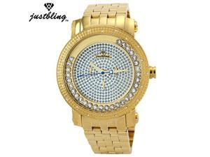 Men Justbling Stainless Steel 0.25CT diamonds JB-6211-A