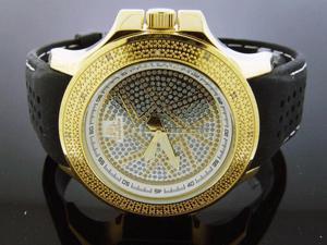 Men Techno Master 0.15CT Diamond YG Watch 46mm TM-2138