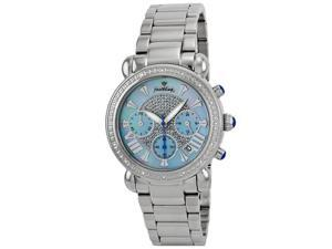 Justbling Stainless Steel Round 16 diamond JB-6210-G