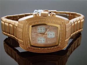 New Aqua Master Rose Gold Square 20 Diamonds watch