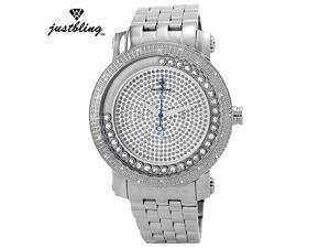 New Men's Justbling.20 Diamonds watch JB-6211-G