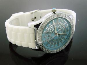 Ladies Techno Master 0.15CT Diamond Watch TM-2138 Blue