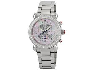 Just Bling Argon Silver lady Diamond watch JB-6210-160