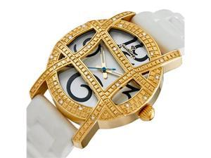 New Just Bling 0.20CT Diamond watch W/ Grill JB-5241-D