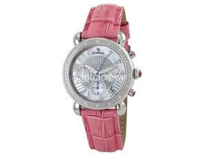 New Just bling Round 0.16 CT diamond Leather JB-6210L-E