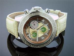 NYCHI USA Men's 0.25ctw Diamond 47MM Watch