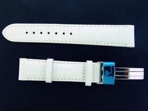 NEW AQUA MASTER DOUBLE PIN 20 MM WATCH BAND WHITE