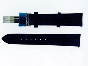 NEW AQUA MASTER ONE PIN 17 MM BLACK COLOR WATCH BAND