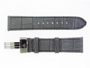 New Aqua Master Single pin leather band 22mm Gray