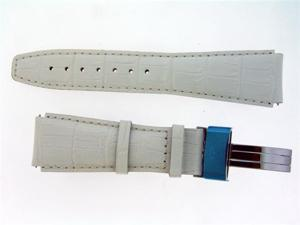 New Aqua Master Single pin leather band 22mm WHITE