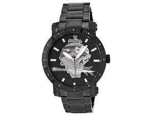 Men's Just bling.12 Diamonds watch with Stainless Steel