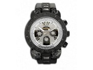 New Grand Master 22 Diamonds 44MM Stainless Steel Watch