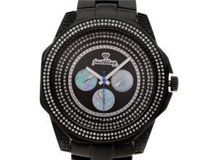 Men's Just bling 2.00 CT Round Full Case Diamond watch
