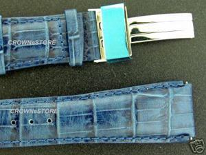New Aqua Master double pin leather band 24mm