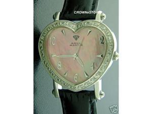 NEW! SWISS AQUA MASTER PINK LADY HEART STYLE 0.50CT