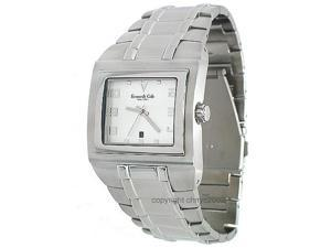 Kenneth Cole Latest Date Silver Mens Watch KC3524