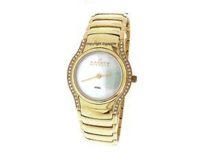 Skagen Crystal Mother Of Pearl Ladies Watch N256SGXGD