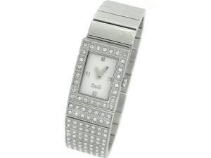DOLCE AND GABBANA CRYSTAL SILVER LADIES WATCH