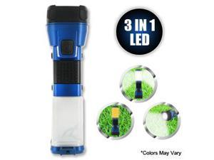 Deluxe 3 in 1 Multi-Function Camping Light KC91095 (Colors Vary)