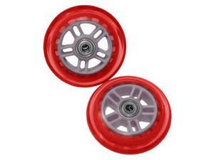 Razor Genuine 98mm Replacement Scooter Wheels – Red